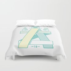 A to Z Duvet Cover