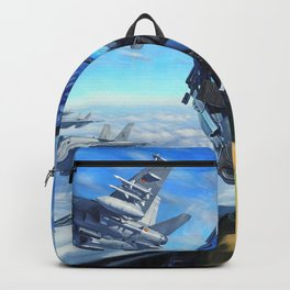 Spanish McDonnell Douglas F/A-18 Hornet Squadron Ultra HD Backpack