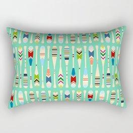Meet Me at the Lake Rectangular Pillow