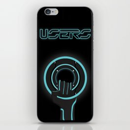 Fight For The Users iPhone Skin