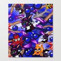 scuba Canvas Prints featuring Scuba by Mark Greulach