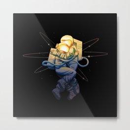 Astro Love Metal Print