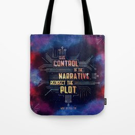 Want - Seize Control Tote Bag