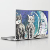 kittens Laptop & iPad Skins featuring kittens by Agata Kowalska