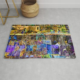 In A Cluttered Hell Rug