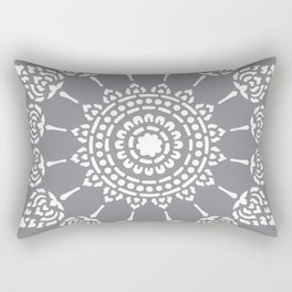 Thai Mandala Rectangular Pillow