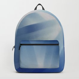Blue Streaks of Light Backpack
