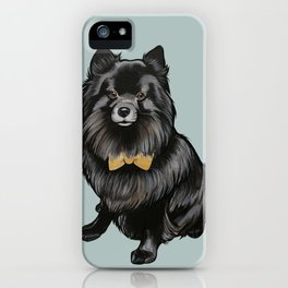 Ozzy the Pomeranian Mix iPhone Case