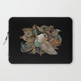 Clockwork Sparrow Laptop Sleeve