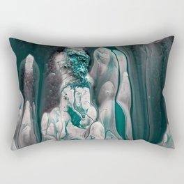 Melting Emerald Rectangular Pillow
