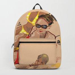 bikini girls Backpack