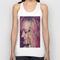 women Tank Tops featuring women by Sowthistle
