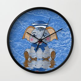 Plumpy the Sailor Wall Clock