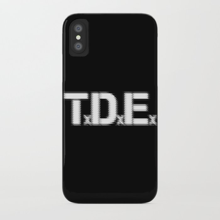 new product ad1d6 ac5ab TDE - Top Dawg Entertainment - Kendrick Lamar iPhone Case by smartyartchick