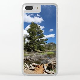 A Rocky Mountian Morning Clear iPhone Case