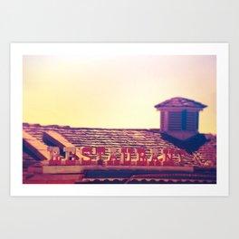 Motel #3 Art Print