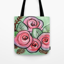 Roses for my Valentine Tote Bag
