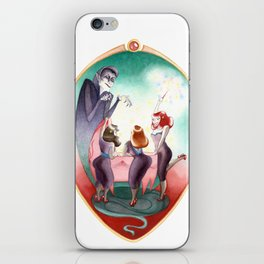 Sleeping Beauty, Mirror iPhone Skin