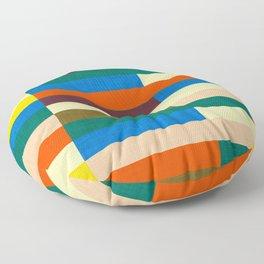 kilim Autumn Colors Floor Pillow