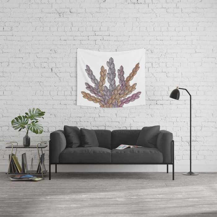 Leaf 13 Wall Tapestry