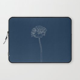 Gerbera Blueprint Laptop Sleeve