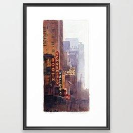 NYC - 45th Street Framed Art Print