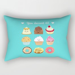 You dessert it! Rectangular Pillow