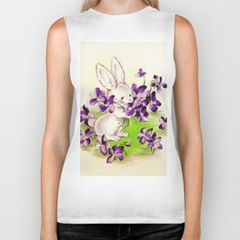 Lilac the Easter Bunny Biker Tank