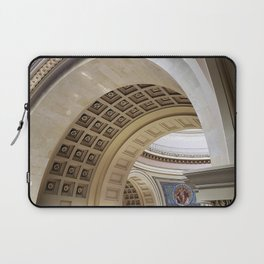 Wisconsin Capitol Building Arches And Angles Laptop Sleeve