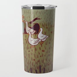 The Goose Girl Travel Mug