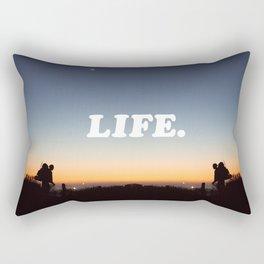 Life. Rectangular Pillow