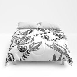 Tropical Succulent Comforters