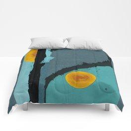Turquoise Twelve Comforters
