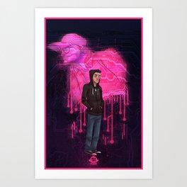 Elliot's Demons Art Print