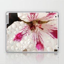 Flowers in the Summer Rain Laptop & iPad Skin