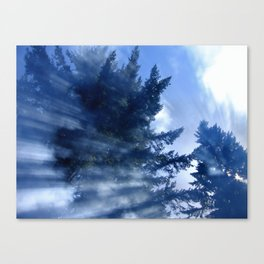 KaleidoSmoke Canvas Print