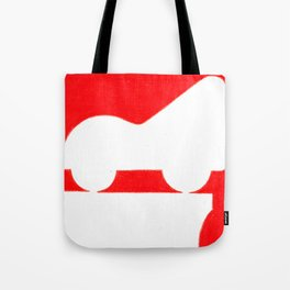Parkway in Red Tote Bag