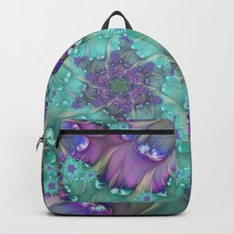 Find Yourself, Abstract Fractal Art Backpack