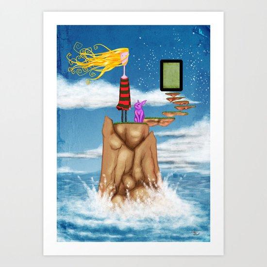 ...Unadjusted... Art Print