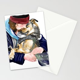 Humanity is love Stationery Cards