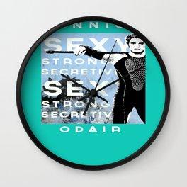 """Finnick """"sexy secretive strong"""" Odair Wall Clock"""