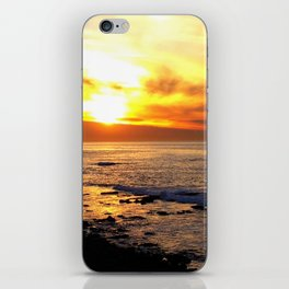 La Jolla Sunset iPhone Skin