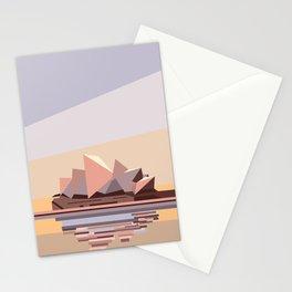 Geometric Opera House, Sydney Stationery Cards
