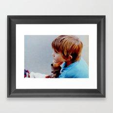 Mike! Framed Art Print