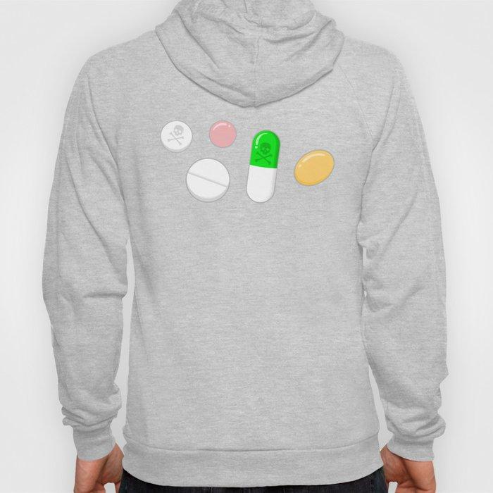 Deadly Pills Pattern Hoody