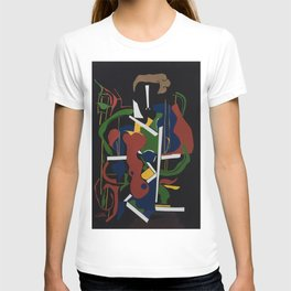 The Composer - Collage by Amnon Michaeli T-shirt