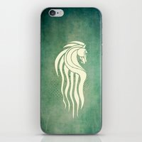 gondor iPhone & iPod Skins featuring Rohan Horse heraldry by Nxolab