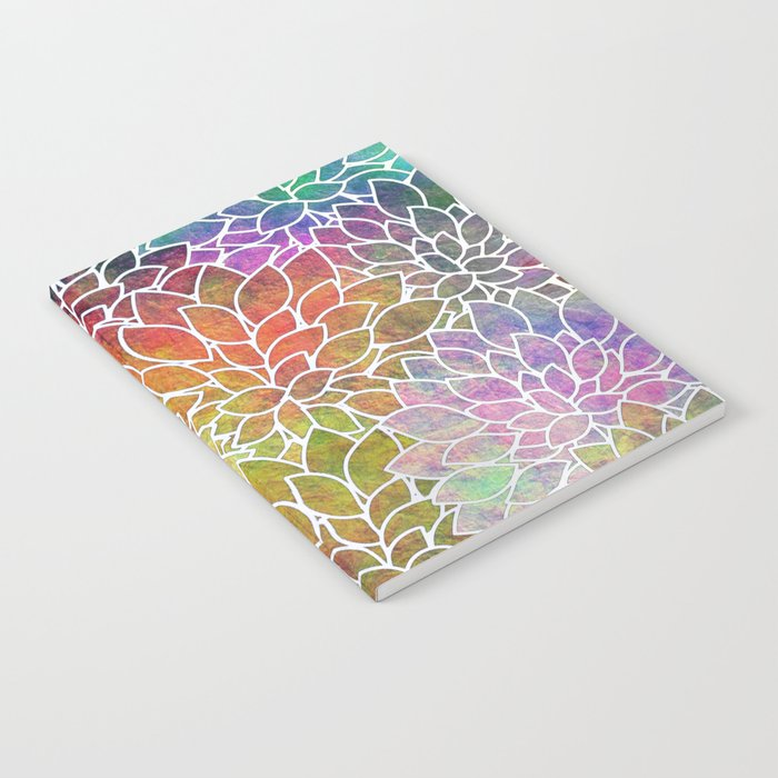Floral Abstract 6 Notebook