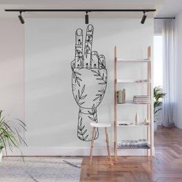 Botanical Mannequin Hand Wall Mural