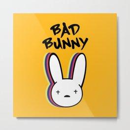 Bad bunny Metal Print